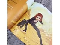 漫威繪本首度登台!一窺黑寡婦、小辣椒心中的「英雄模樣」
