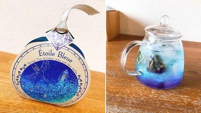 日本「星空茶」溫度改變就變色!加冰塊變絕美漸層,放檸檬汁還有驚喜