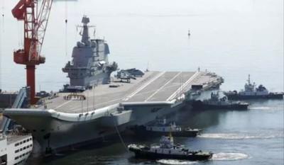 陸國產航母完成艦載機起降試驗 估7月服役