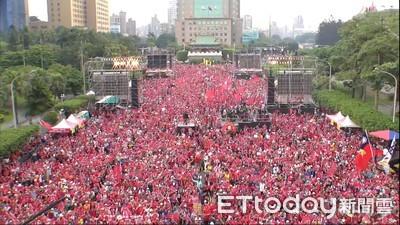 凱道空拍照曝光 主辦宣稱:現場超過10萬人