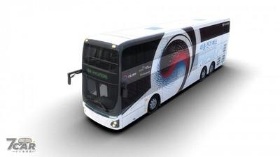 Hyundai 首款純電動雙層巴士亮相