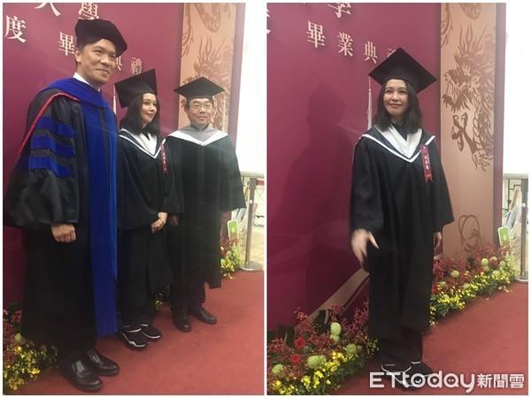 ▲▼徐若瑄世新大學上海境外碩士在職專班畢業了。(圖/記者林映妤攝)
