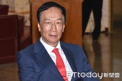 郭台銘選總統民調僅差小英7%!