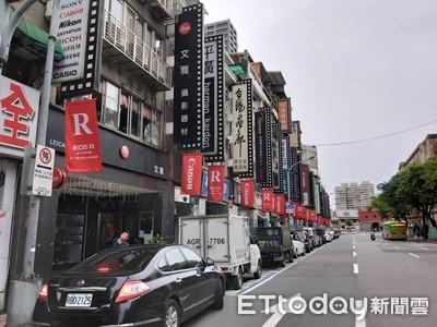 手機吃掉相機市場 北門相機街百步內3棟求招租
