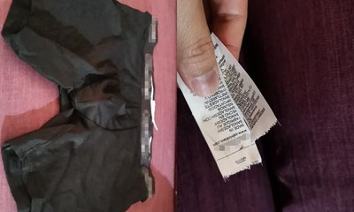 買好市多內褲 「1件標籤被剪過」他怒扔