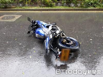 萬安演習「重機單車相撞」 騎士撞電桿爆頭亡