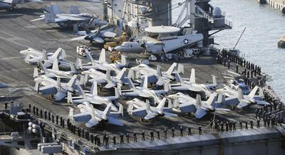 美國防長:無恢復美韓軍演必要