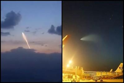 上空驚見UFO!解放軍發文澄清了