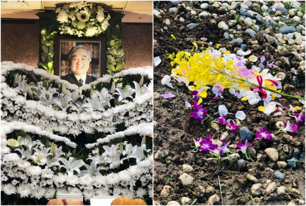 ▲▼ 皇冠集團創辦人平鑫濤於2019年5月23日離開人世,享耆壽92歲,在家人花葬下圓滿離開。(圖/翻攝瓊瑤臉書)