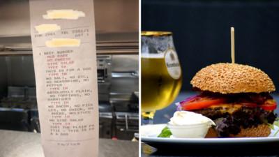 點餐單標註「給狗吃的」 高檔餐廳廚師接單傻掉!鏟屎官:這要求合理