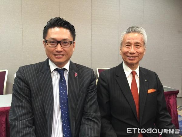 ▲▼三圓建設董事長王光祥(右)、與機構總經理王雅麟(左)。(圖/記者詹宜軒攝)