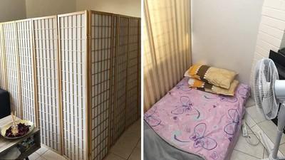 「屏風兩片+睡過的床墊」租你三千!厚臉皮房東硬要招租,被罵到撤文