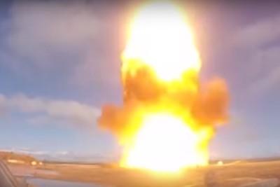 俄新型飛彈試射片曝光!衝天超壯觀