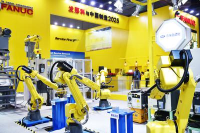 上海「超級智慧工廠」 工業機器人「四巨頭」先後登陸