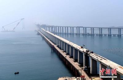 平潭海峽公鐵兩用大橋2020年通車