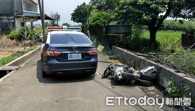 移工自撞身亡 警公布跟車影片