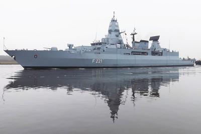 德軍考慮派出艦艇穿越台灣海峽