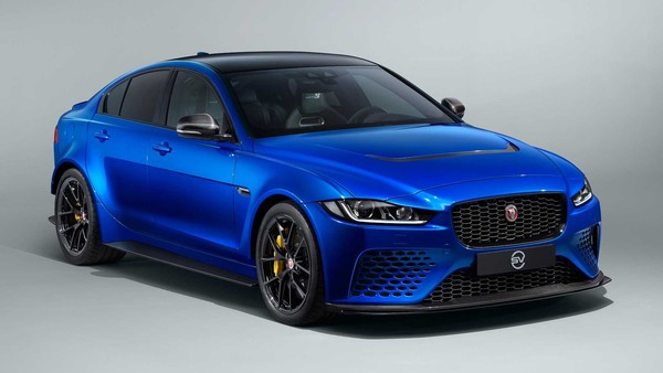 ▲Jaguar 推出限量15部XE SV Project 8 Touring。(圖/翻攝自Jaguar)