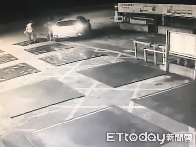 開贜車環島半圈躲查緝 中途如廁被逮