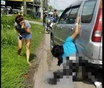 驚悚!少女遭捲入「後車輪」間隙亡