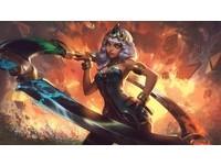 《英雄聯盟》公開新英雄「元素女帝」姬亞娜