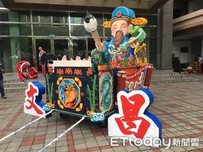 桃園閩南文化節 藝閣綵街KUSO劇免費看