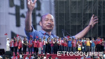 韓國瑜雲林造勢 6萬張紅椅藏玄機