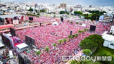 15萬韓粉塞爆 記者實算紅椅14833張
