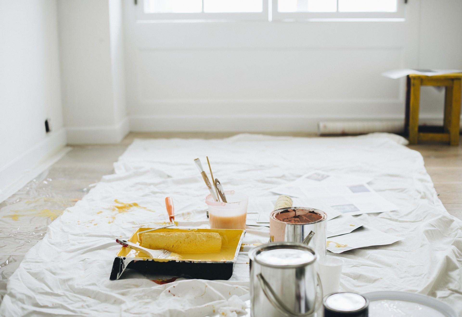 ▲▼裝潢,粉刷,油漆。(圖/pixabay)