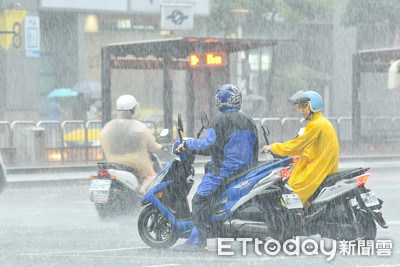 水利署發布高雄、台南2級淹水警戒