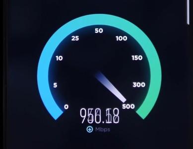 北京大學生實測5G!下載平均700Mbps