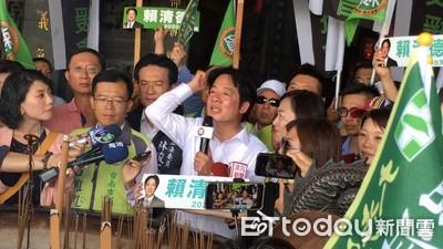車隊到台南 賴清德:守護台灣贏得初選勝利