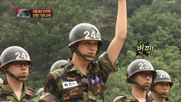 ▲朴炯植在《真正的男人》有亮眼表演。(圖/翻攝自MBCentertainment YouTube)