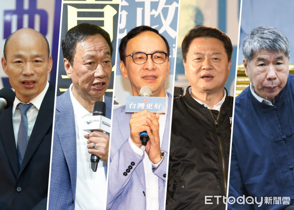國民黨內部報告曝光 韓國瑜民調降、郭台銘上升慢