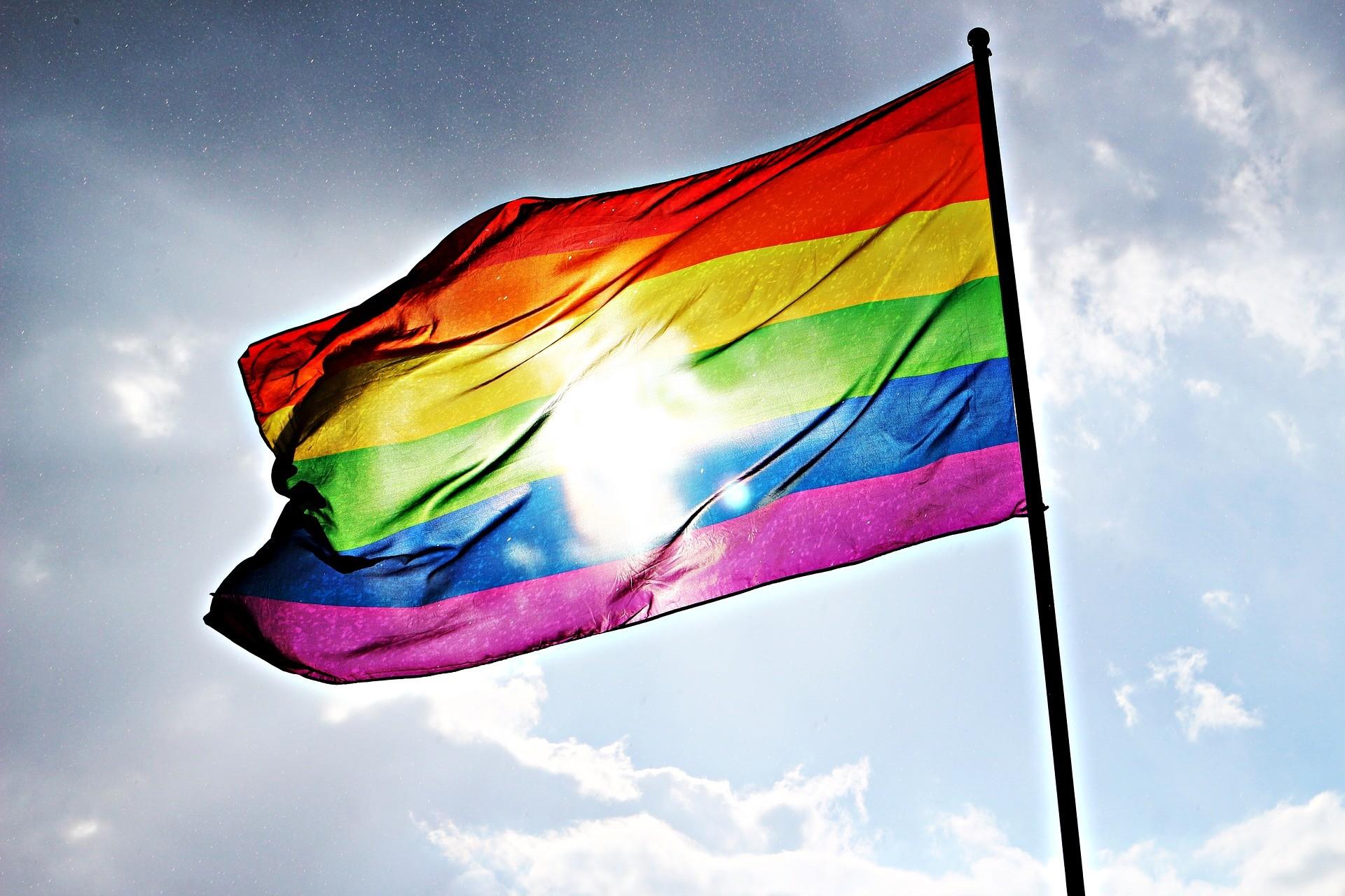 ▲▼ 同志,同性戀,LGBT,彩虹旗,彩虹。(圖/取自免費圖庫Pixabay)