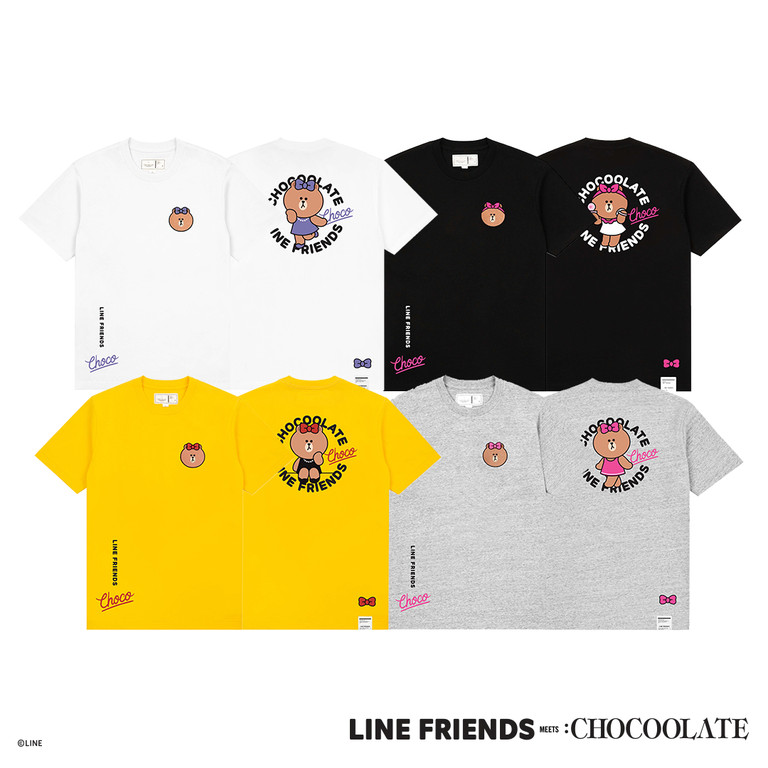 ▲ LINE FRIENDS MEETS :CHOCOOLATE 。(圖/:CHOCOOLATE提供)