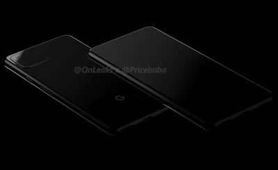Google Pixel 4渲染圖曝光!