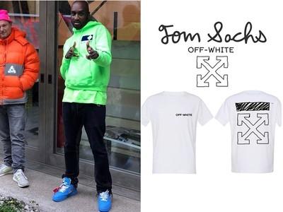 Tom Sachs X Off-White手繪塗鴉T