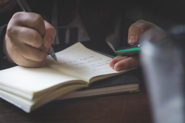 讀書,考試,念書,筆記(圖/取自免費圖庫stocksnap)
