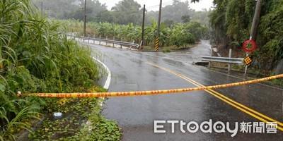 台南大豪雨 多處積水道路封閉