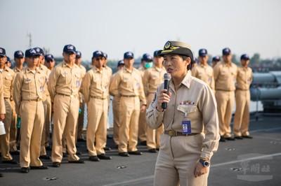 女官兵參與敦睦遠航落實性別平權