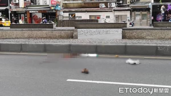 更新/10m旁斑馬線不走! 老婦人被「貨車撞飛30m」重傷身亡