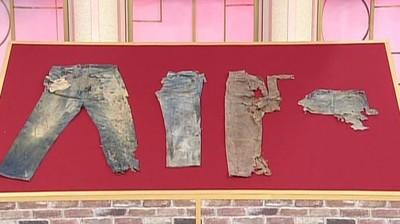 日男買4條破爛牛仔褲 竟是百萬古董