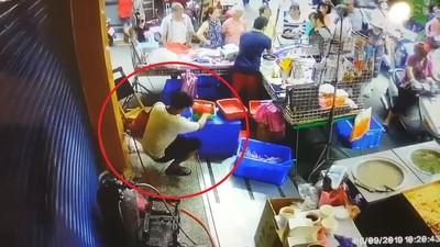 三重慣竊專偷市場攤商 臭豆腐老闆5千元飛了