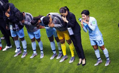 世界盃女足亞洲5國首輪遭遇慘敗