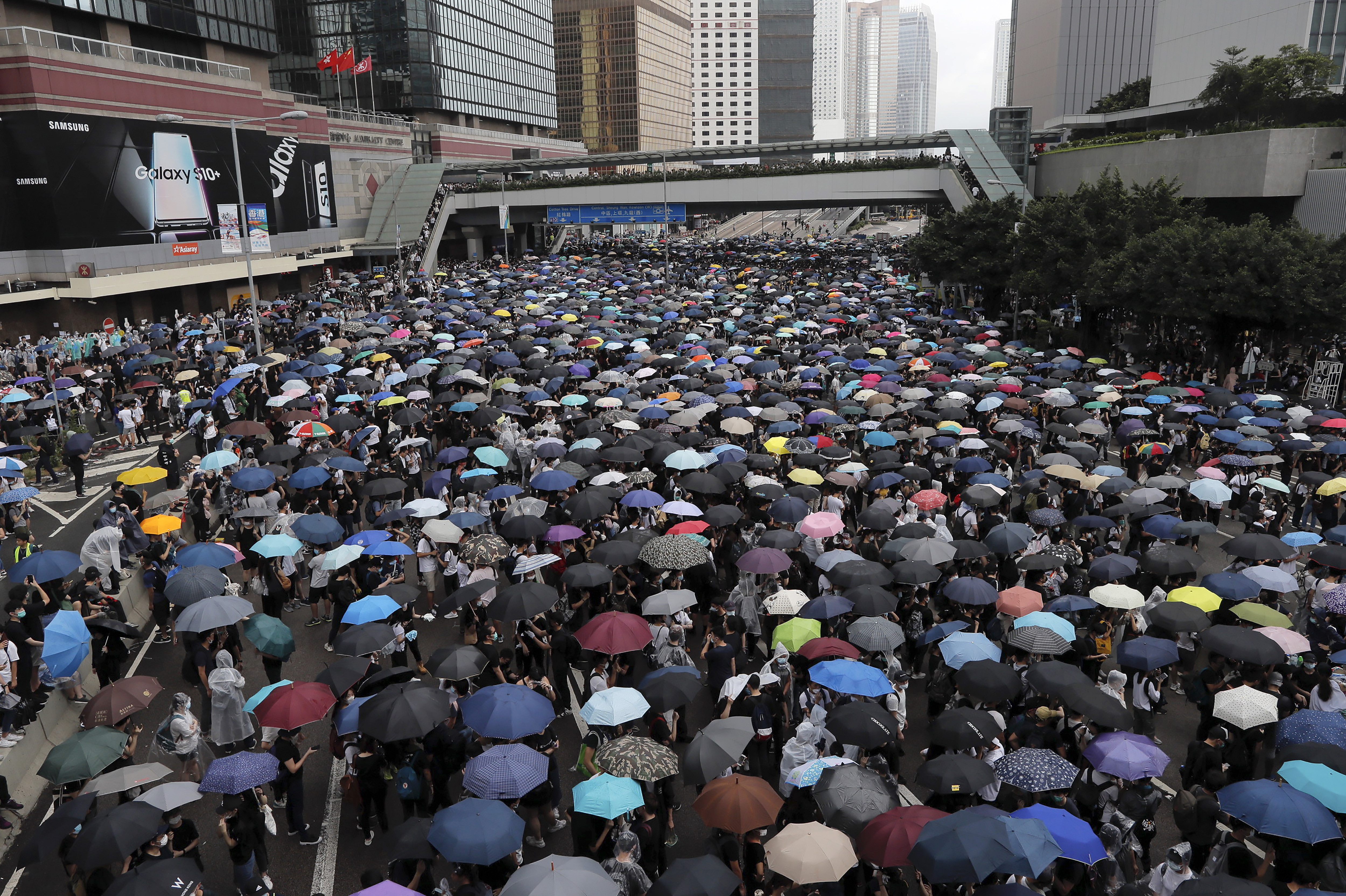 ▲▼香港,反送中。(圖/達志影像/美聯社)