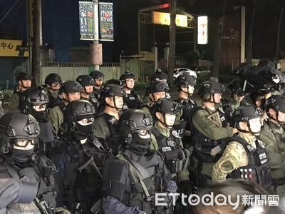 除暴特勤隊警力曝光!3大隊警力讓2嫌繳械