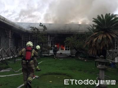 台南新營民宅火警 幸無傷亡