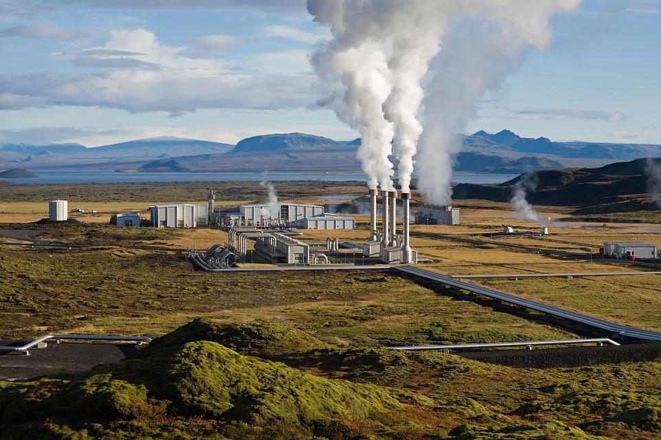 ▲▼ 冰島的奈斯亞威里爾地熱發電站。(圖/取自免費圖庫Pixabay)