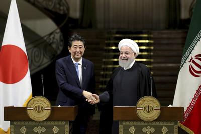 安倍訪伊朗:不計代價避免軍事衝突